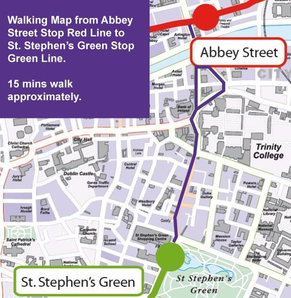Luas Abbey Street