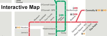 View the Luas Network Map